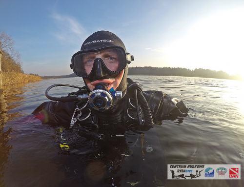 Suchy Skafander kurs CN RYBADIVE Sidemount Team